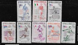REPUBLICA DOMINICANA MNH # 474-8, C97-9 - Dominicaine (République)