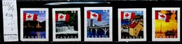 Canada - Kanada 2004 Y&T N°2110 à 2114 - Michel N°2227 à 2231 Nsg - Série Drapeau National - Neufs