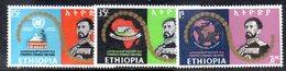 ETP136 - ETIOPIA 1968 ,  Yvert  N. 510/511    ***  PACE - Ethiopia