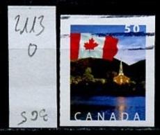 Canada - Kanada 2004 Y&T N°2113 - Michel N°2230 (o) - 50c Drapeau National - 1952-.... Règne D'Elizabeth II