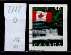 Canada - Kanada 2004 Y&T N°2112 - Michel N°2229 (o) - 50c Drapeau National - 1952-.... Règne D'Elizabeth II