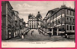 Brésil - Brazil - Bahia - S. Bento - Hotel - Animée  - Edit. J. MELLO N° 13 - Salvador De Bahia