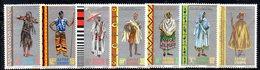 ETP141 - ETIOPIA 1968 ,  Yvert  N. 520/526   ***  COSTUMI - Ethiopie