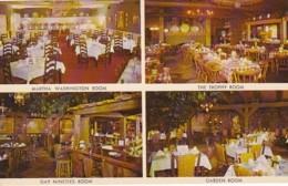 Illinois Rockton Wagon Wheel Restaurant Interior Views - United States