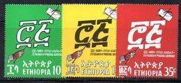 ETP144 - ETIOPIA 1969 ,  Yvert  N. 527/529   ***  POSTE - Etiopia