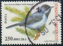 Turquie 2004 Yv. N°3115 - Fauvette De Rüppell - Oblitéré - 1921-... République