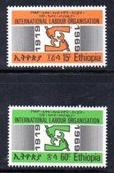 ETP145 - ETIOPIA 1969 ,  Yvert  N. 530/531   ***  OIL - Etiopia