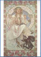 Alphons Mucha (1860-1939)  Portrait De Joséphine Comme Crane-Bradley Slavia (Slavia), 1908 - Mucha, Alphonse
