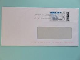 Montimbrenligne - Belet Courant Faible - Datamatrix - Lettre Verte - 04.12.18 - Postmark Collection (Covers)