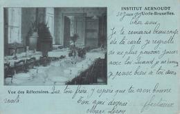 CPA Précurseur Uccle Bruxelles - Institut Aernoudt - Vue Des Réfectoires - Uccle - Ukkel