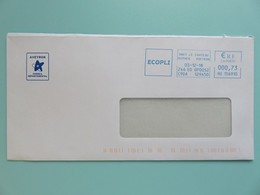 EMA Sur Enveloppe Aveyron - Logo Conseil Départemental - Ecopli - Onet Le Château - 03.12.18 - Marcophilie (Lettres)