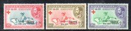 ETP148 - ETIOPIA 1959 ,  Yvert  N. 349/351   ***  CROCEROSSA - Ethiopia