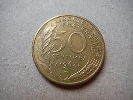 P80   50 Centimes 1963 (2) - Francia