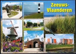 Netherlands / Zeeuws - Vlaanderen / Lighthouse, Windmill - Holanda