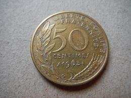 P80   50 Centimes 1963 (4) - G. 50 Centesimi