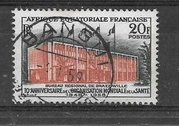 AEF YT 242 Oblitéré - A.E.F. (1936-1958)