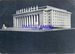 104984 ARGENTINA 2º EXPOSICION EVA PERON Y SU OBRA SOCIAL PERONISMO BUILDING EDIFICIO BREAK POSTAL POSTCARD - Argentine