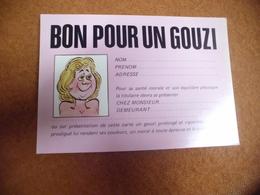 BELLE ILLUSTRATION HUMORISTIQUE ...BON POUR UN GOUZI - Humour