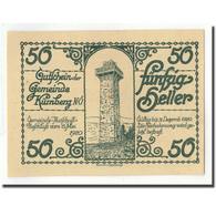 Billet, Autriche, Kürnberg, 50 Heller, Tour, 1920, 1920-05-15, SPL, Mehl:FS - Autriche