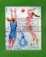 Italia- °-2014-  PALLAVOLO FEMMINILE -   Usato.   Vedi Descrizione - 6. 1946-.. Repubblica