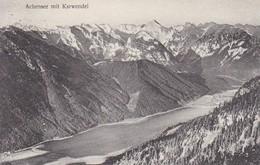 AK Achensee Mit Karwendel - Stempel Erfurter Hütte - 1909 (38161) - Achenseeorte