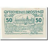 Billet, Autriche, Dross, 50 Heller, Château, 1920, 1920-12-31, SPL, Mehl:FS - Autriche