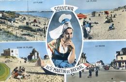 50 - Souvenir De Saint Martin De Brehal - Multivue - France