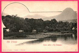 Principe - Ponte Sobre O Rio Papagaio - Pont Sur La Rivière - Edit. OSORIO & SEABRA - Sao Tome Et Principe