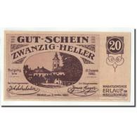 Billet, Autriche, Erlauf, 20 Heller, Eglise, 1920, 1920-06-05, SPL, Mehl:FS 181a - Autriche