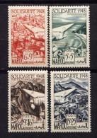 MAROC - N° A70/73** - AU PROFIT DES OEUVRES DE SOLIDARITE - Maroc (1891-1956)