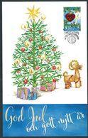 Aland 2018; Albero Di Natale, Chhristmas Tree; Maximum Card E FDC A Mariehamn.  Åland Post. - Alberi