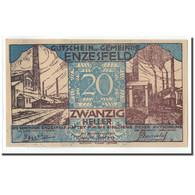 Billet, Autriche, Enzesfeld, 20 Heller, Paysage, 1920, 1920-06-05, SPL, Mehl:FS - Autriche
