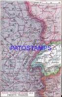 104989 ARGENTINA PUBLICITY COMMERCIAL EL CIGARRILLO IDEALES & MAP MAPA FRENTE FRANCES POSTAL POSTCARD - Argentine
