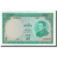 Billet, Lao, 5 Kip, 1967, KM:9b, NEUF - Laos