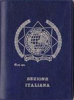 INTERNATIONAL POLICE ASSOCIATION   /  Tessera Di Riconoscimento _ Marche Di Vidimazione Annuali - Documents Historiques