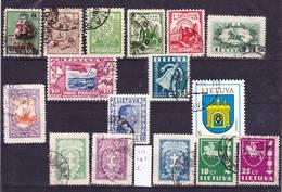2018-0015 Lietuva Lot Used O - Lithuania