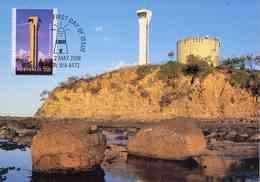 """Entier Postal De 2006 D'Australie Sur Carte Postale """"Phare Point Cartwright"""" Avec Timbre Oblit PJ 02 Mai 2006 - Phares"""