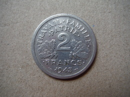 P81   2 Francs Etat Français 1943 - France