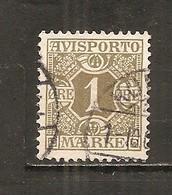 Dinamarca-Denmark Nº Yvert Periódico 1 (usado) (o) - Paquetes Postales