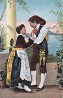 AK Sorrento - Costumi Di Sorrenta - La Tarantella  (38176) - Trachten