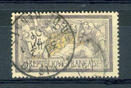 France  :  Yv  122  (o)        ,   N3 - 1900-27 Merson