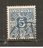 Dinamarca-Denmark Nº Yvert Periódico 2 (usado) (o) - Paquetes Postales