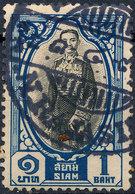 Stamp Siam Thailand 1928 1b Used Lot26 - Tailandia