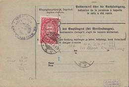 INFLA  DR 175,  (6x 176 A Abgelöst) MiF, Geprüft, Auf Paketkartenabschnitt, Mit Stempel: Aachen 25.7.1922 - Infla