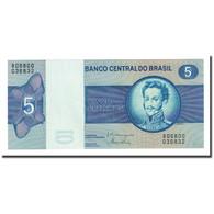 Billet, Brésil, 5 Cruzeiros, UNDATED (1970-80), KM:192d, NEUF - Brésil