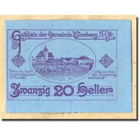Billet, Autriche, Kürnberg, 20 Heller, Paysage, 1920, 1920-05-15, SPL, Mehl:FS - Autriche