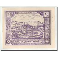 Billet, Autriche, Jeutendorf, 50 Heller, Château, 1920, 1920-06-20, SPL - Autriche