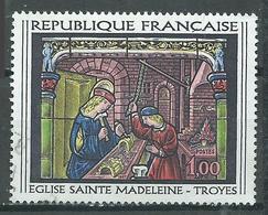 France YT N°1531 Eglise Sainte-Madeleine Troyes Oblitéré ° - France