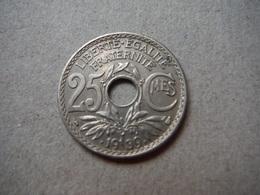 P85   25 Centimes Lindauer 1939 - France