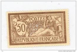 France  :  Yv  120  *       ,     N2 - 1900-27 Merson
